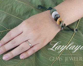 Jade Bracelet,jade jewelry,Green bracelet,Gemstone bracelet,Jade,Green Jade,Green jade bracelet,gemstone jewelry,Gift for her,Gift for him