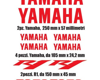 COD-040 stickers yamaha r1
