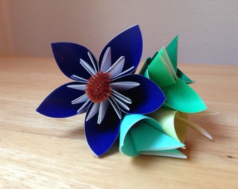 One Flower Origami Corsage