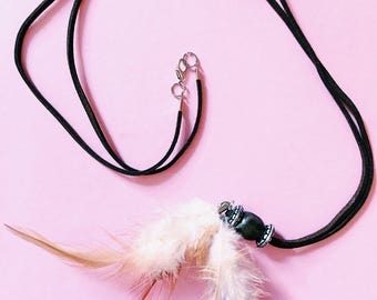 Tassel Feather Necklace
