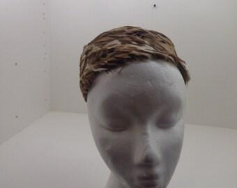 Vintage Fine Feathered Hat