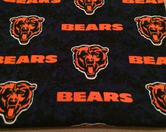 XL Chicago Bears fleece blanket .