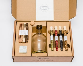 AGING & FLAVOR Premium Gin Box - refine your gin according to your taste!