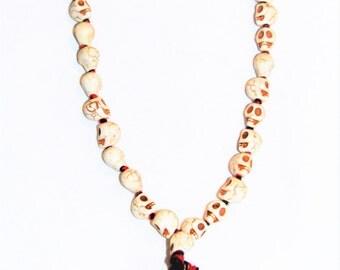 Unique Goddess Kali Mala Beads Skulls. Destroyer of Ego.