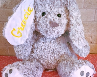 Embroidery easter plush bunny