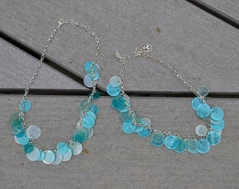 Circling Shells - Blue