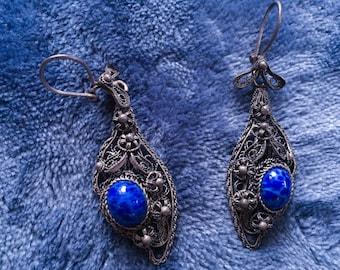 Silver toned earrings jewerly
