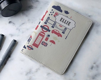 I've Got A Travel Heart - Personalized Passport Cover/Holder - Travel Passport Cover - High Quality Handmade Leather | TG-PPC-423