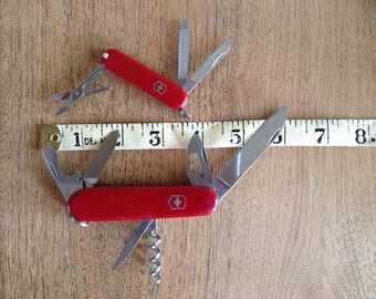 Set of Swiss Army Knives