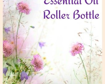 Essential Oil Roller Bottle - 10ml, Allergies, Sleep, Mood Lifting, Anxiety, Cold, Illness, All Natural, Chemical-free
