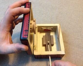 Sticky ~ Vintage Retrofit Puzzle Box Plans