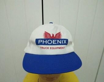 Rare Vintage PHOENIX TRUCK EQUIPMENT Cap Hat Free size fit all