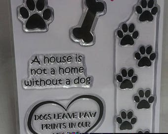 Paw Prints - A6 Stamp Set by Imagine Design Create