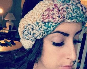 Braided Crocheted Headband/Ear Warmer