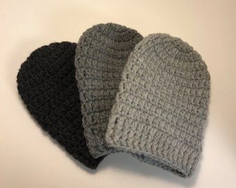Heather Grey Collection = Cast Cozy/Cast Sock/Toe Cover = Ready to ship
