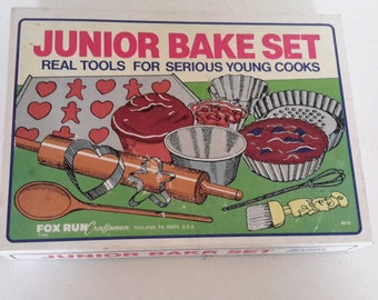 Vintage Junior Bake Set in Original Box