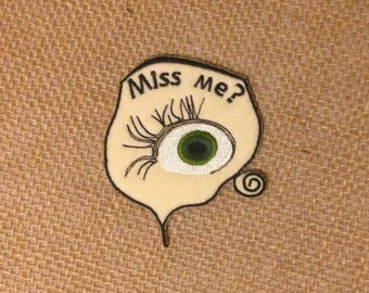 Annabelle horror eye patch