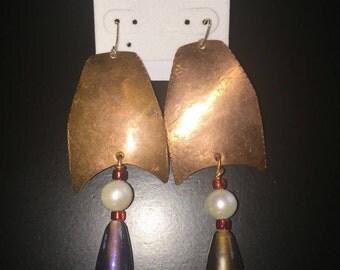 Copper Earring!!