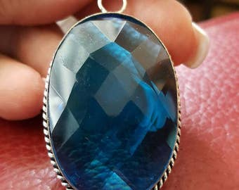 Blue Quartz Pendant!
