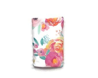 Organic swaddle blanket, swaddle blanket, organic baby blanket, baby blanket, baby bedding, organic baby bedding in floral print