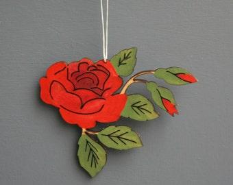 Rose Hanging