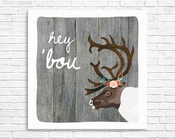 Hey 'Bou Print