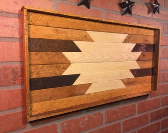 Rustic Aztec, Wall decor