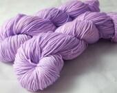 "Hand Dyed Sock Yarn, Superwash Wool - Merino - BFL - Nylon - Sparkle - Stellina, ""What the Lump"""