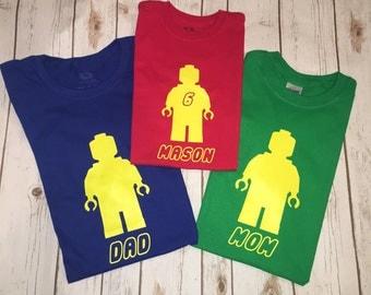 Family Lego Shirts