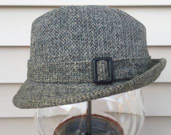 Vintage Pendleton Wool Tweed Fedora Hat Cap Size 7 Nice