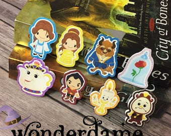 Beauty and Beast Bookmarks