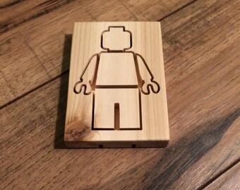 lego guy soap dish