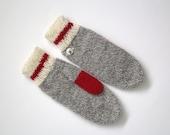 Womens wool mittens,Hand knit mittens, womens mittens,winter mittens, knitted hand warmers, gloves, mittens