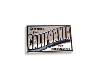 Greetings From California Pin