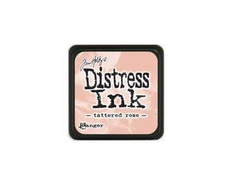 Distress Mini Ink Pad Tattered Rose