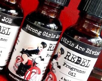 Women's REBEL Fragrance Oil / Perfume Oil / Essential Oils / Perfume - .5 oz