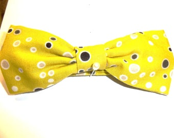 Bow Ties, Spring Time Yellow, Wearable Art, Sporty