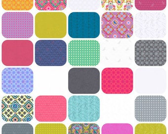 Seventy-Six by Alison Glass Fat Quarter Bundle all 30 prints 76 cotton fabric precut andover modern material quilting