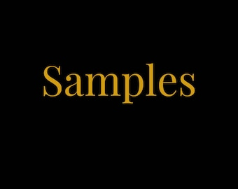 Trial size samples