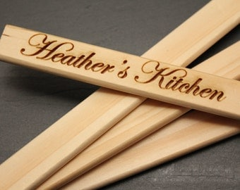 Personalized Spatulas, Custom Laser engraving, Personalized engraving, Custom Engraving, Custom gifts, Custom Spatulas, kitchen ware