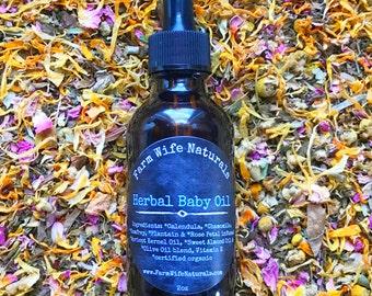 Herbal Baby Oil