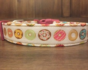 DONUTS! - Adjustable Dog Collars, Cat Collars and Leashes from Wuppy Wear - Made to Order Dog Collars