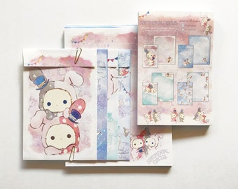 Sentimental Circus Pastels Letter Set