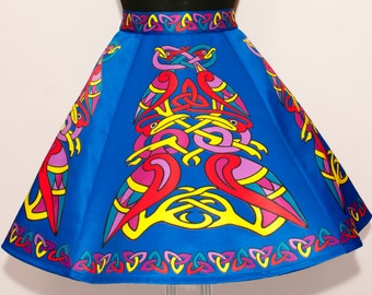 Irish Dance/Skirt/ European Style/Personal Skirt For Irish Dancing/Practice And Competitions/ Celtic