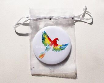 Pocket mirror 75mm - Parrot