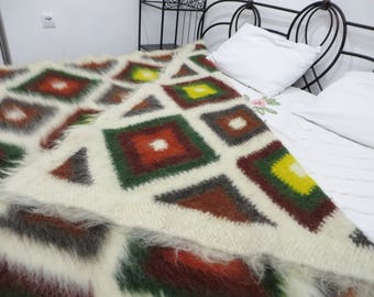 Bed Coverlets,Sofa Coverlet,Wool King Coverlet,Woven Bed Spread,Bedspread Queen,Bright Throw,Bed Covers,Shaggy Throw Blankets,Wool Blankets