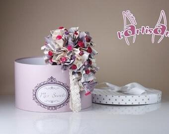 """Shabby Chic"" bridal bouquet"
