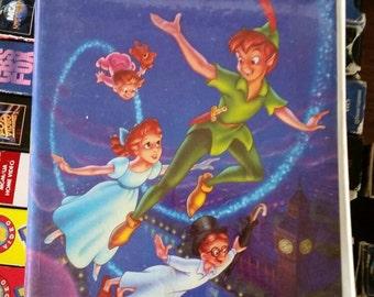 Peter Pan -Disney Black Diamond Edition VHS- Clamshell Case, Classic Animation