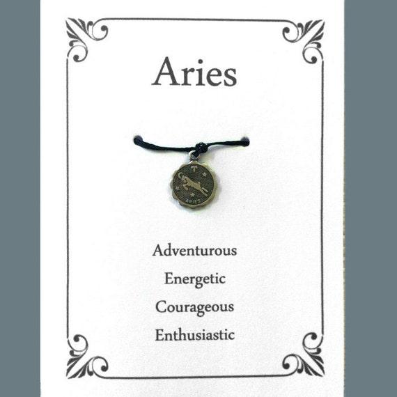 Aries Greeting Card Birthday Wish Bracelet Aries The Ram