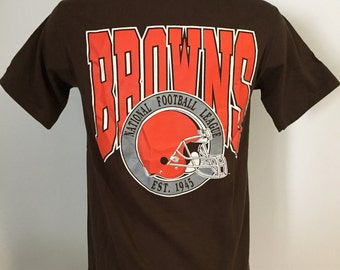 Vintage Cleveland Browns Tee M